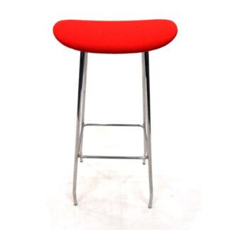 Calligaris Jam barstol med lift (Hvit, Krom)